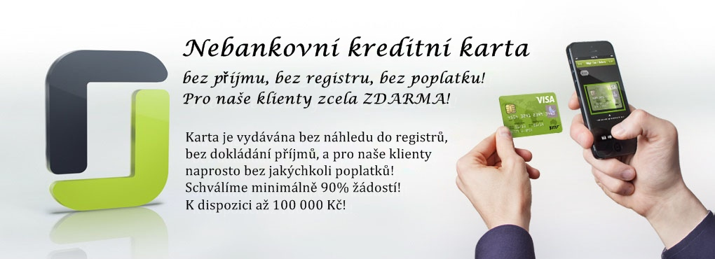 Kreditní karta bez registru